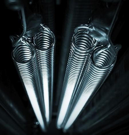 system sprężyn naciągowych POL BRAM