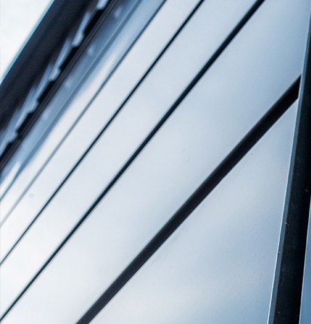 brama garażowa szeroki panel grafit