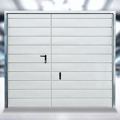 Furtka do bram garażowych uchylnych i dwuskrzydłowych