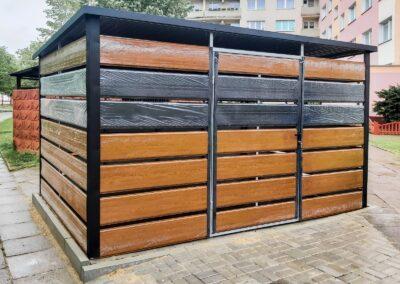 Wiata śmietnikowa trashbox 3,8x2,5